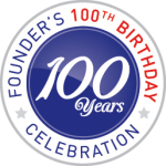 100 Year Founder's Logo
