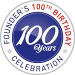 100 Year Founder's Logo