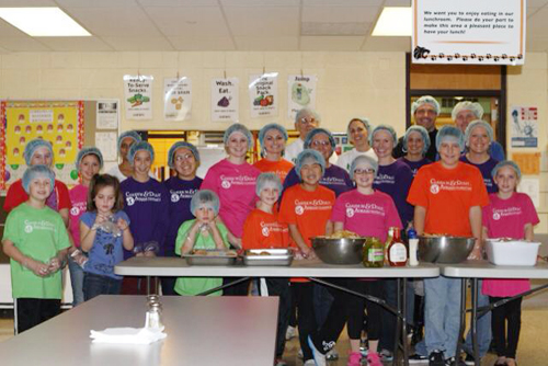 lend a hand program community meal helpers