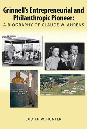 Claude W. Ahrens biography cover