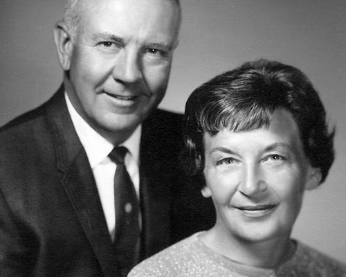 Portrait of Claude and Dolly, 1960s