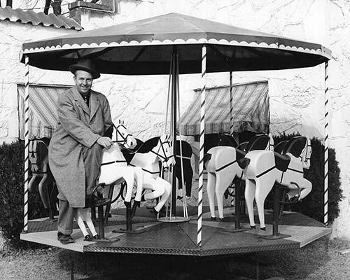 claude on merry-go-round