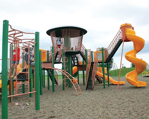 photo of kids on playground