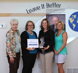 leave it better award - 2014