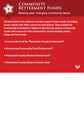 community betterment graphic