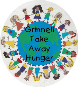 Grinnell Take Away Hunger Logo