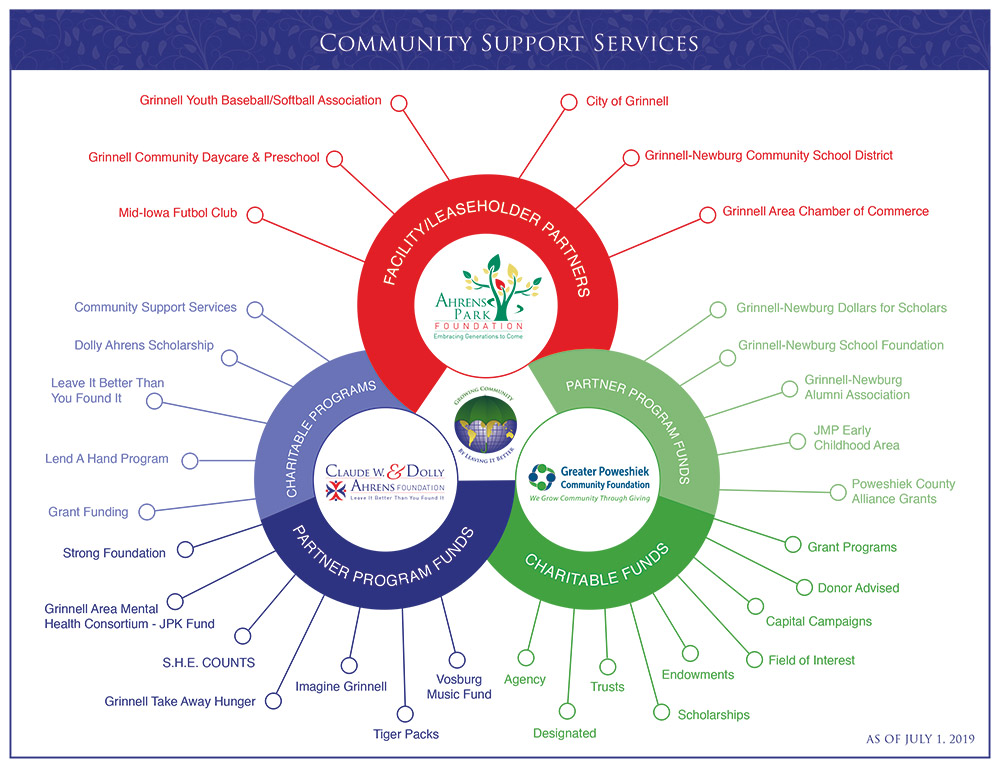 Community Support Services Partnership Infograph
