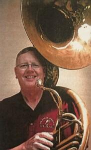 Bill Vosburg with Tuba