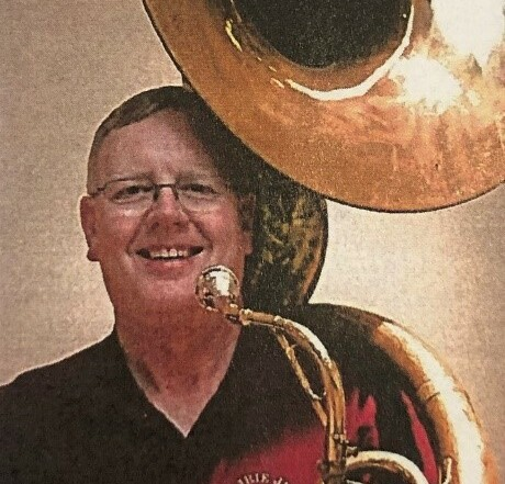 Bill Vosburg with Tuba
