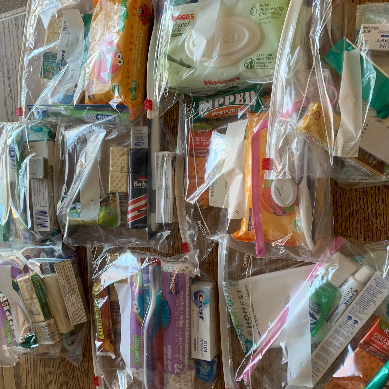 The first batch of Outreach Care bags has been assembled and are ready to go to...