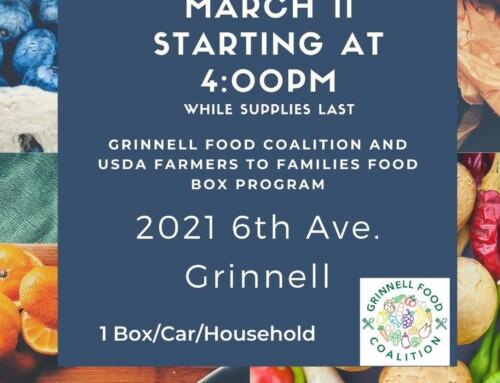 March 11 Food Box Distribution