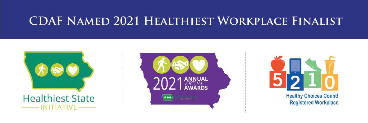 healthiest workplace finalist banner